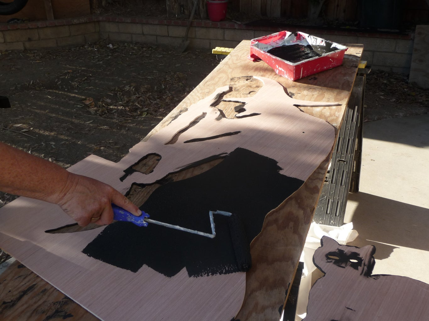 Paint the Cut-outs
