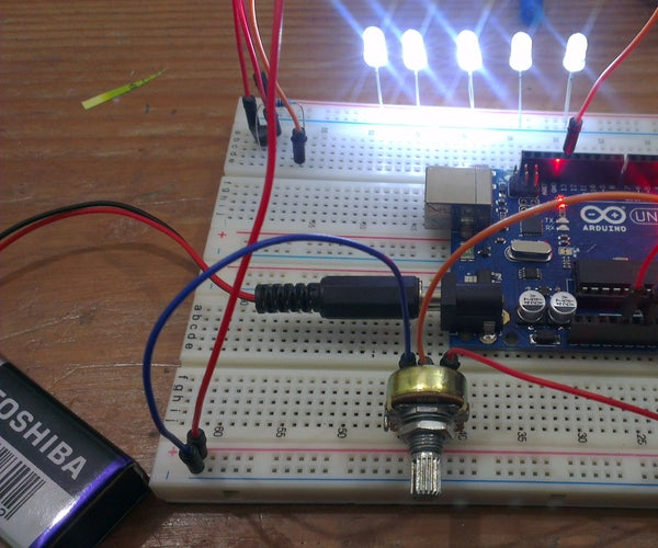 Arduino Strobe / Stroboscopic Lamp