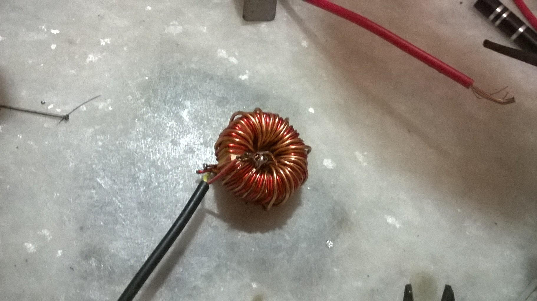 Step 7: Attaching the Coil
