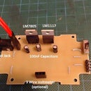 Simple Breadboard Switchable Power Supply