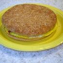 Smoked Salmon Breakfast Sandwich
