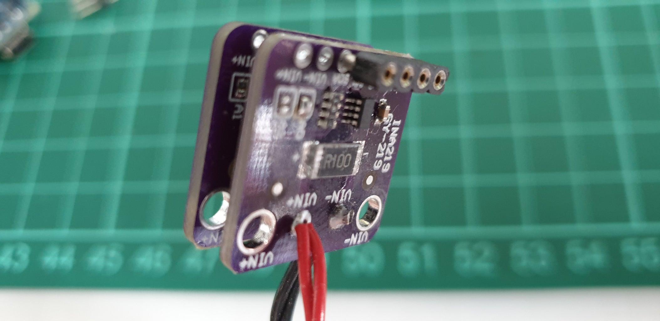 Put the Current Sensor Together