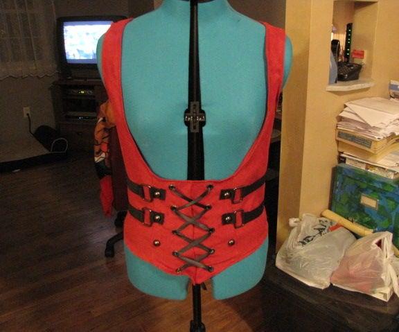Arkham City Harley Quinn Vest