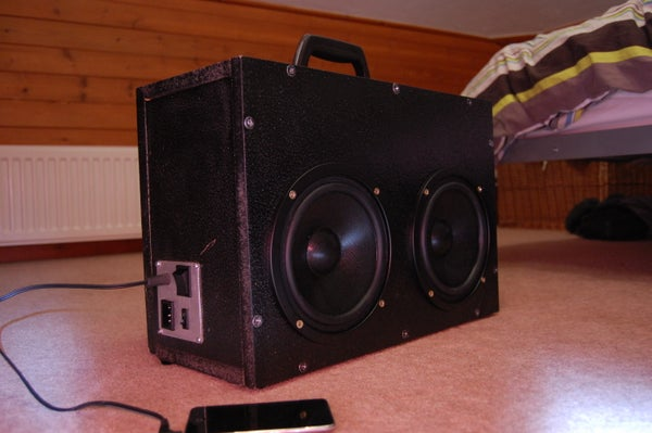 200W Boombox (How to Build)