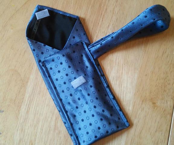DIY wallet with Old Ties