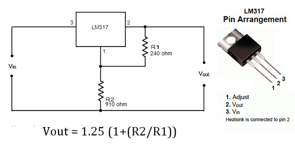 Use a Voltage Regulator Circuit to Set the Output of the Power Supply to the Appropriate Voltage