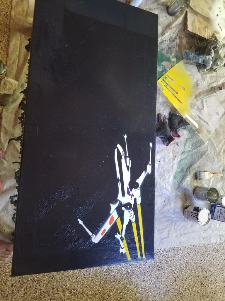 The Spray Paint Process