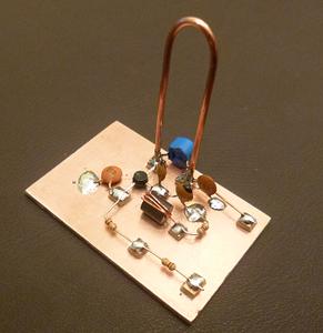 Finished Oscillator Circuit Board