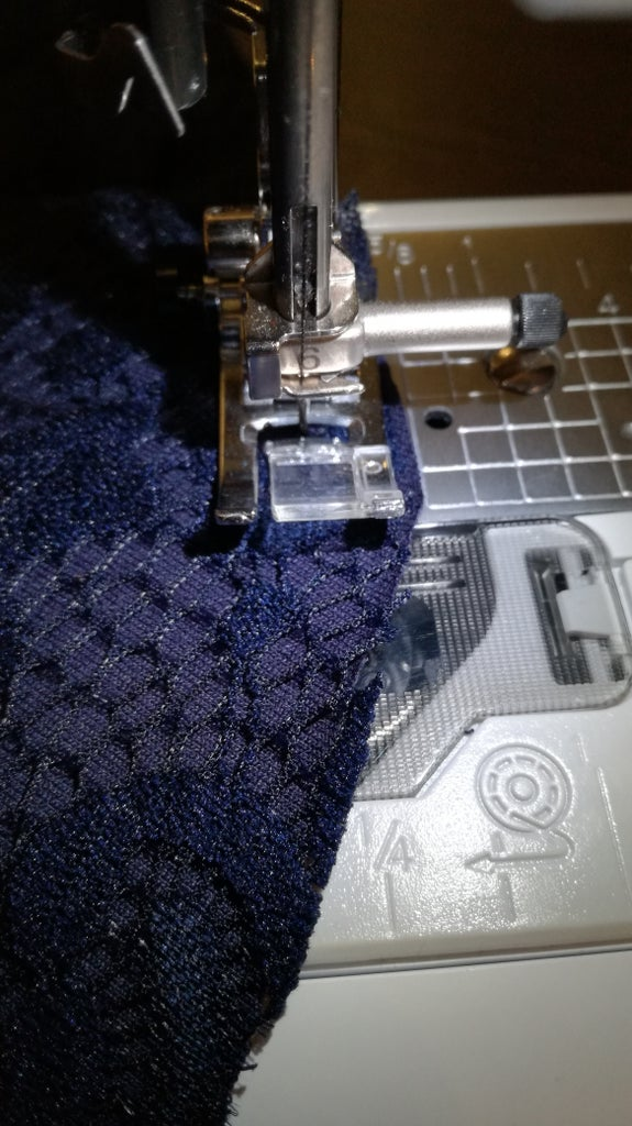 Sew the Front Pieces Together