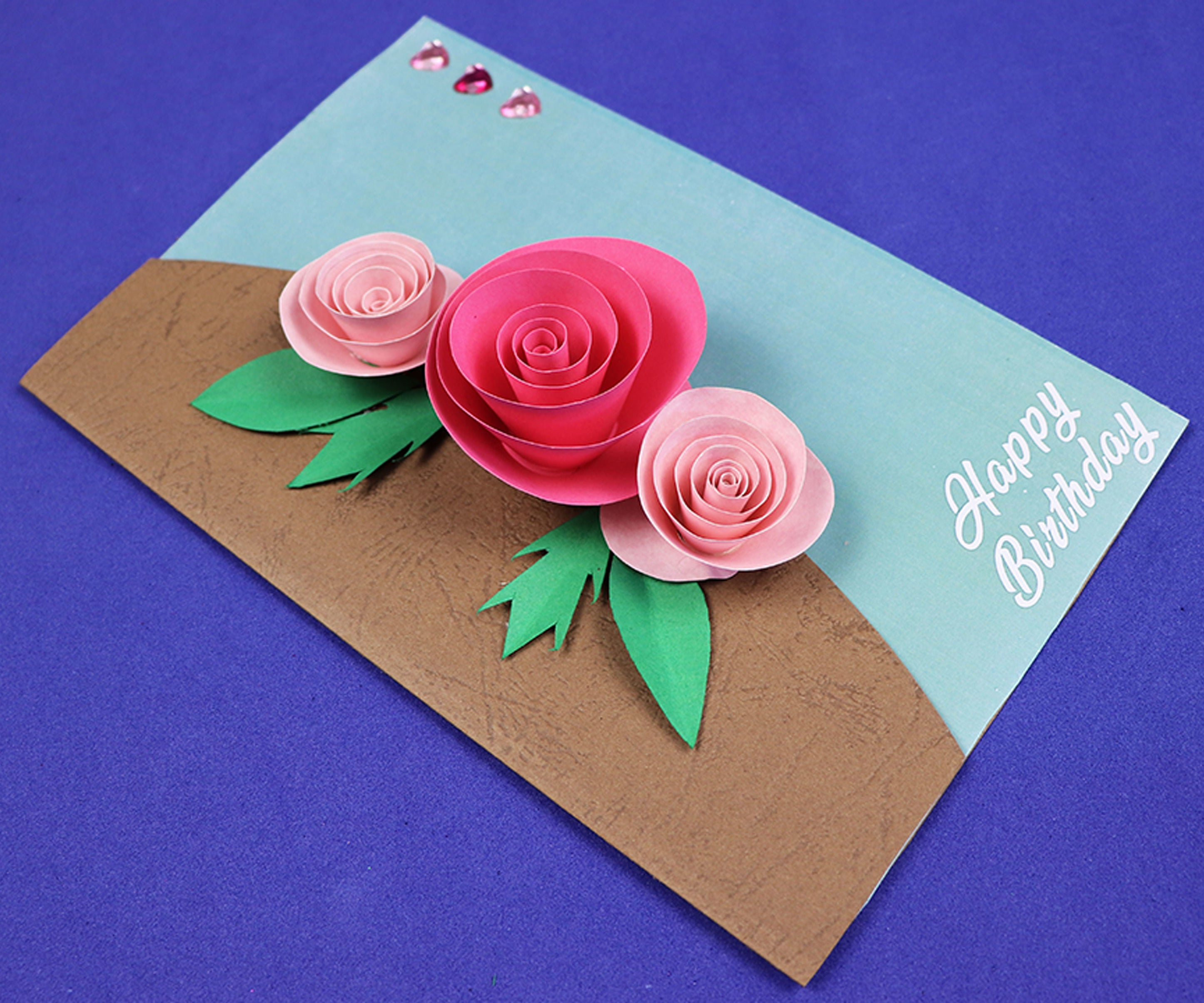 Beautiful Birthday Greeting Card Idea : 8 Steps - Instructables
