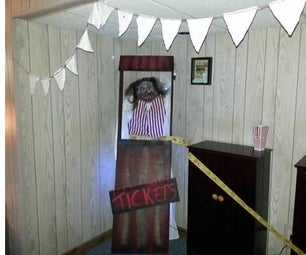 Halloween Circus Booth