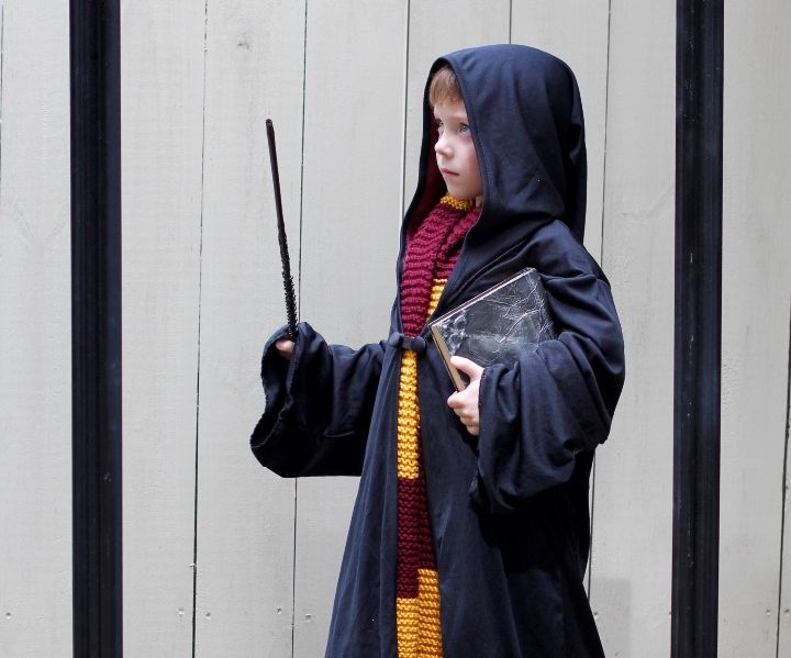 Harry Potter Wand & Spell Books