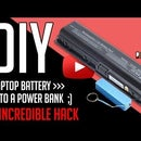 Power Bank From Laptop Battery
