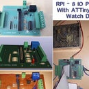 RPI - 8 IO PLC With ATTiny85 Watch Dog