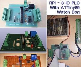 RPI  -  8 IO PLC与Attiny85手表狗