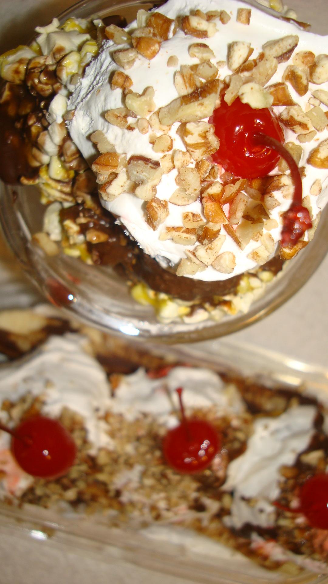 No Melt Microwave Popcorn Ice Cream Treats