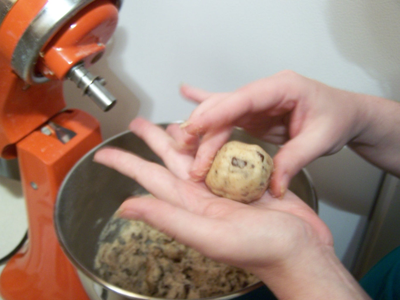 Forming the Cookies