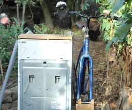 Reusing a Defunct Top-Loading Washing Machine by Converting It to Pedal Power - Step-by-step