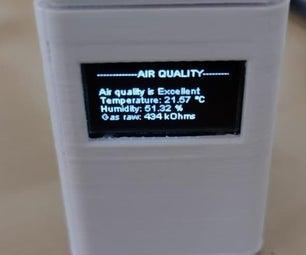 室内空气质量计