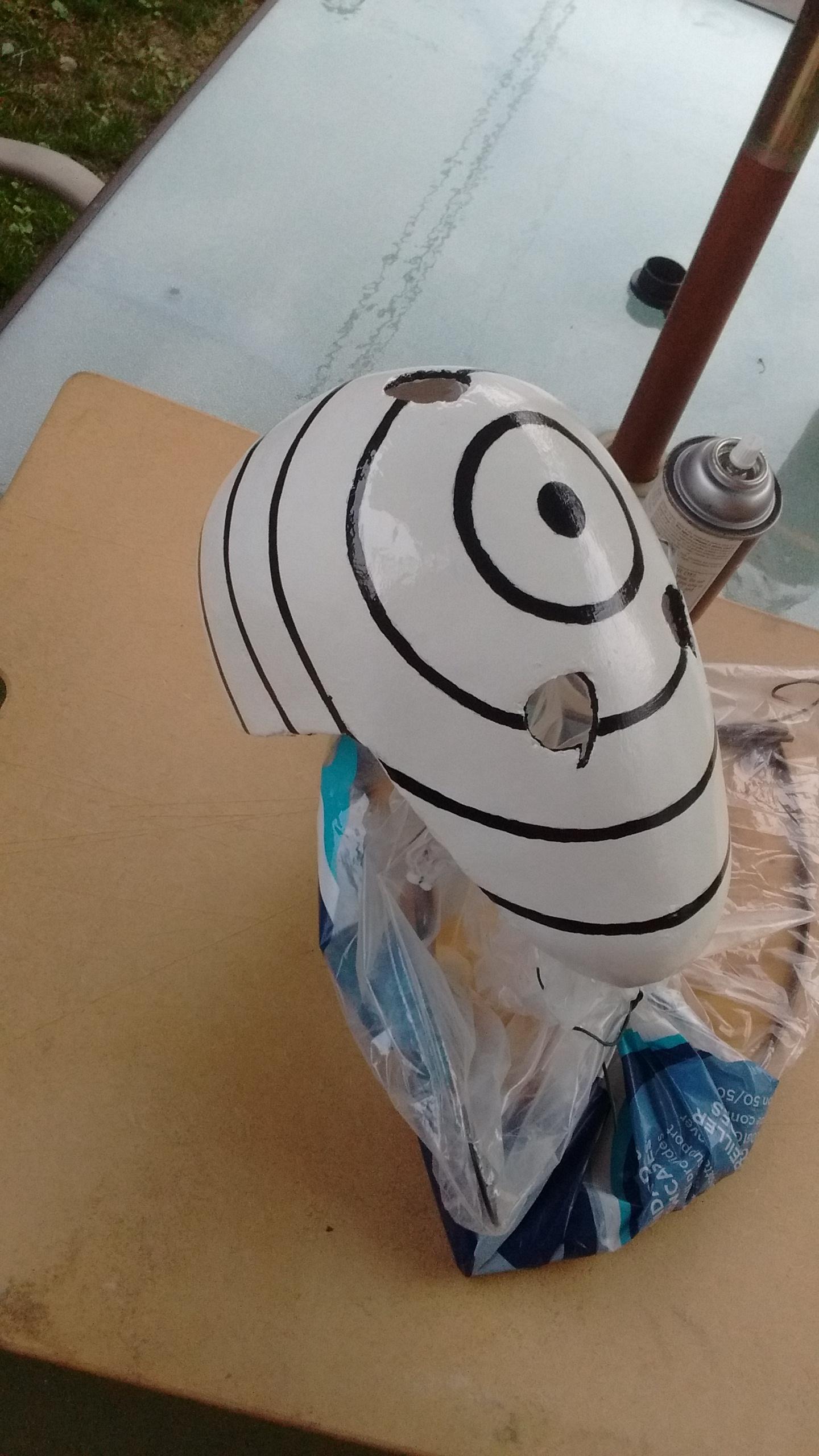 Obito Uchiha Rinnegan Mask Prop