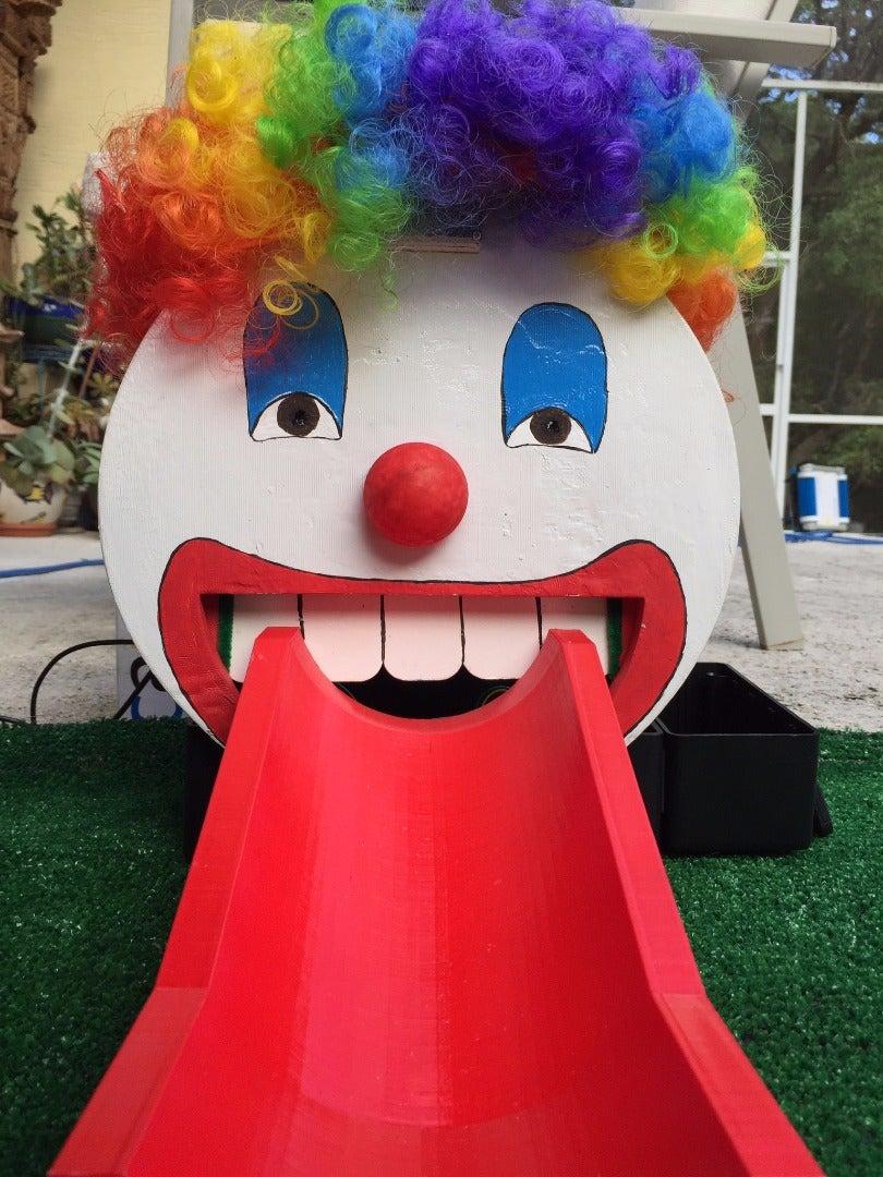 Clown Putt Putt Game