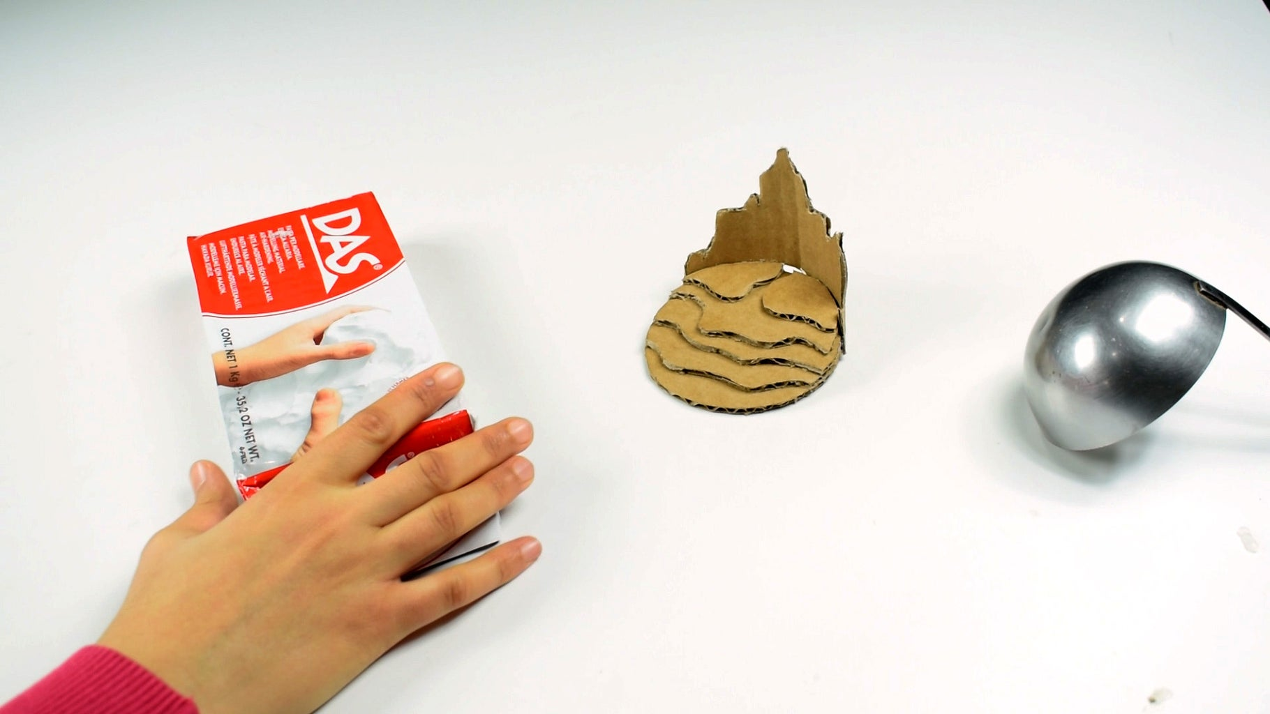 Cover the Mountain With Paper Clay