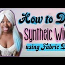 Dying a Synthetic Wig With Fabric Dye