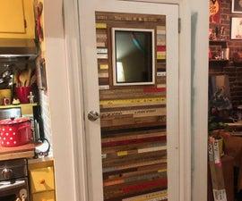 Embellished Wood Door: It RULES!