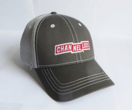 Cap With a Small Hidden Pocket in Which to Store Money