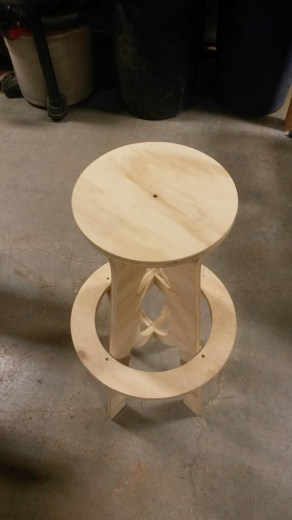 Assemble the Stool and Clean Up