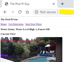 Pool Pi Guy - AI Driven Alarm System and Pool Monitoring Using Raspberry Pi