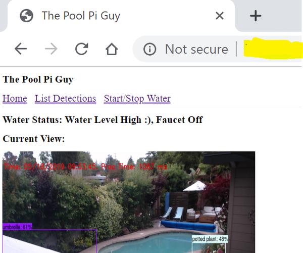 Pool Pi Guy - AI Driven Alarm System and Pool Monitoring Using Raspberry Pi