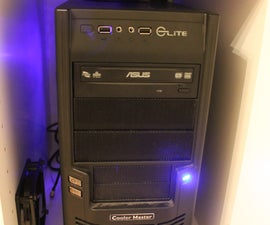 Cooling an Enclosed Computer Desk - Ikea Alex