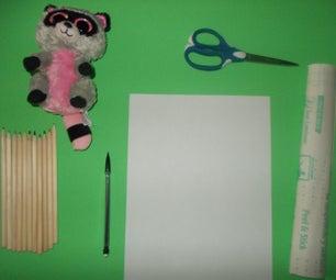 Cute Beanie Boo Bookmarks