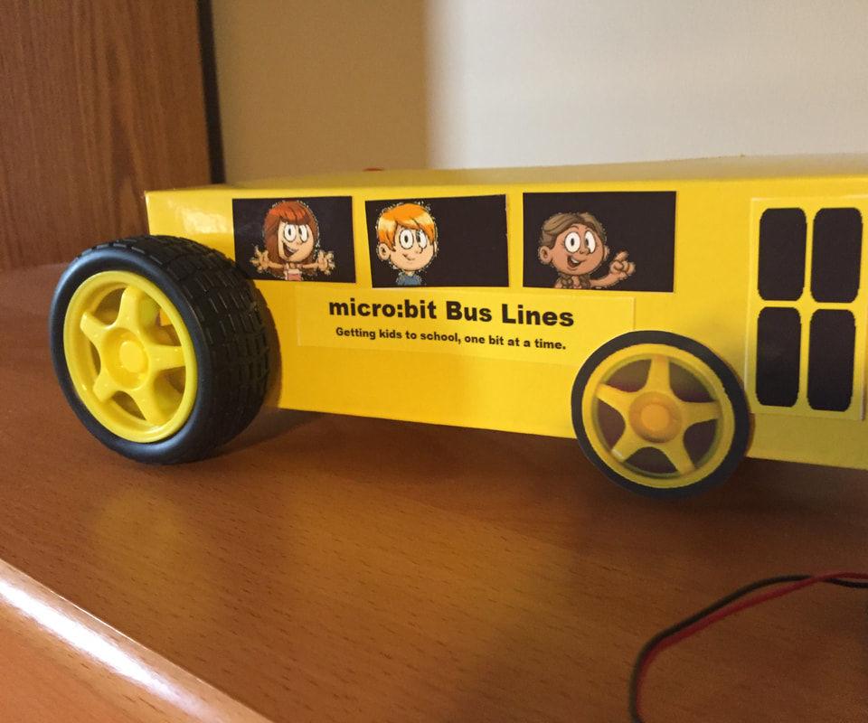 Micro:bit School Bus - EASY and Inexpensive!