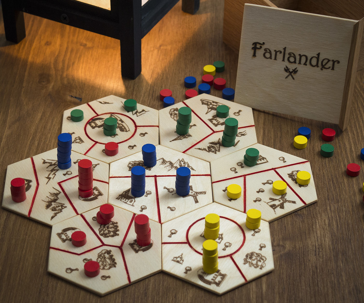Diy Board Game Farlander 6 Steps With Pictures Instructables