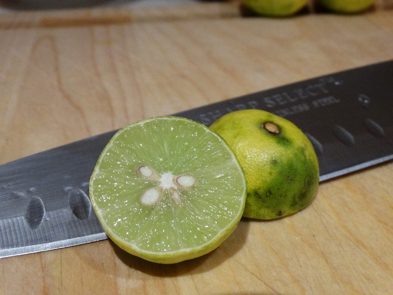 Juice the Limes...