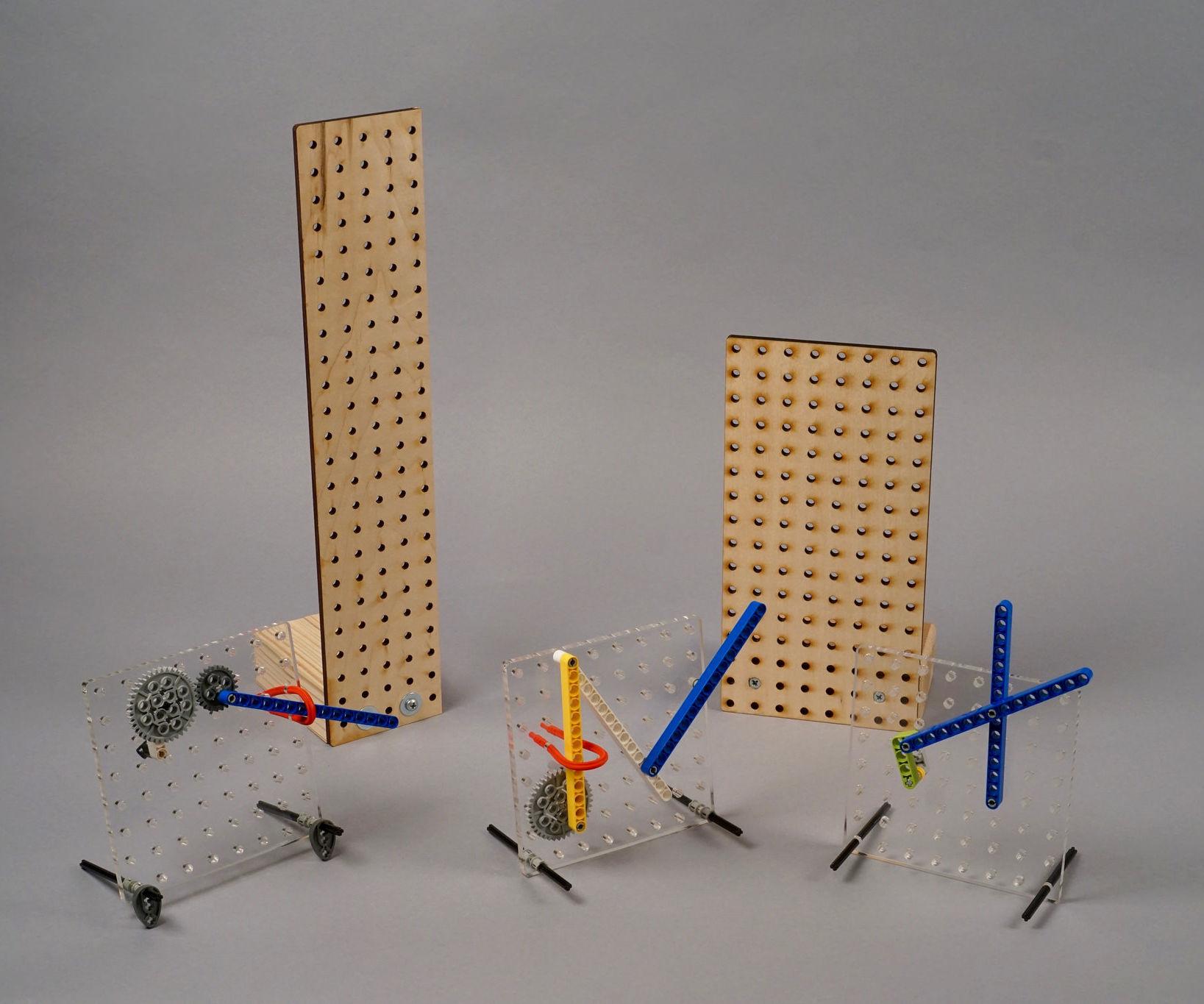 LEGO Tinkering Pegboard