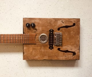 Cigar Box Guitar | Corona Edition