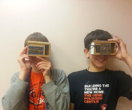 Google Cardboard for Those With Glasses