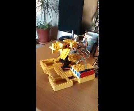 Arduino & Lego Solar Tracker (Dual Axis)