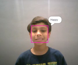 Expression Recognizer Using Face Detection in PictoBlox