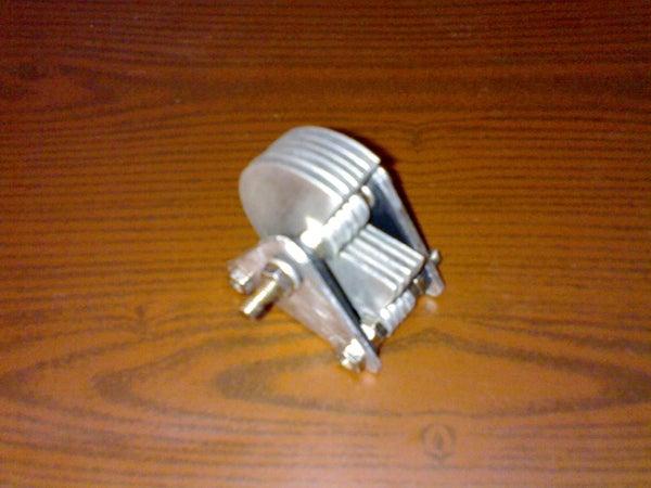 Air Variable Capacitor From Scrap Aluminum Sheets