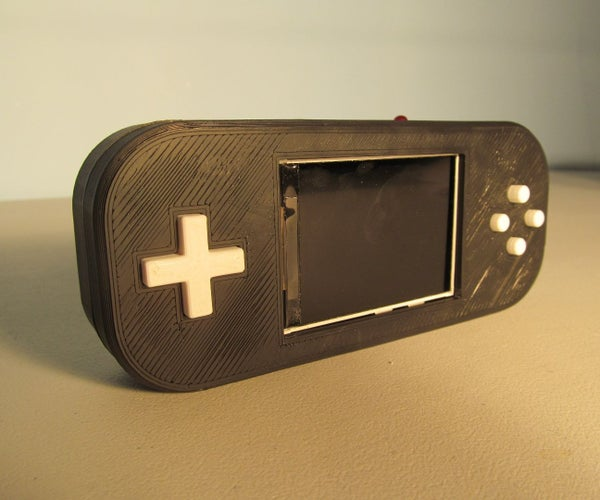 $20 Portable Raspberry Pi Game Console