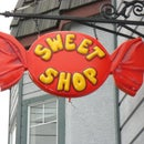 Large Wrapped Candy Sign