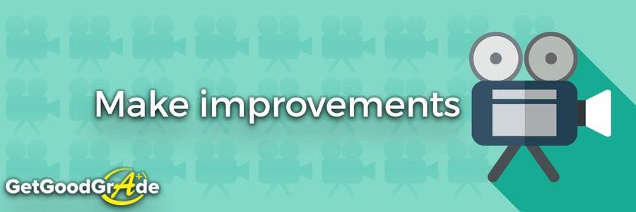 Make Improvements.