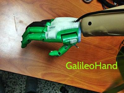 Como Construir La Galileo Hand