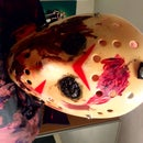 Life Size Jason Vorhees/Friday 13th Halloween Model With 15.4 Inch Tv/dvd Stomach and Servo/arduino Moving Head