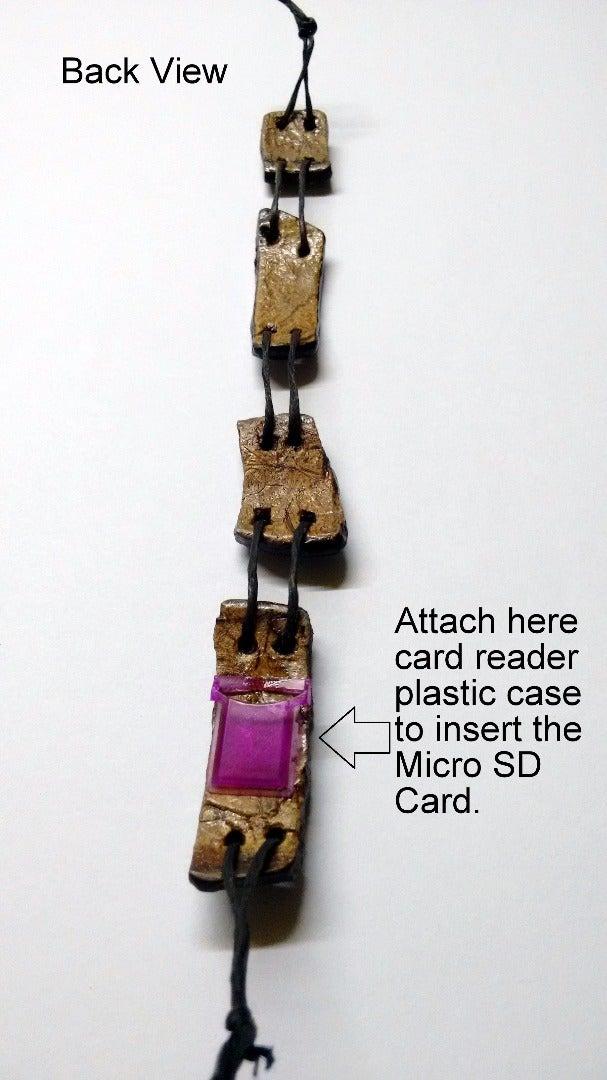 Now Attach the Micro SD Card Reader Case