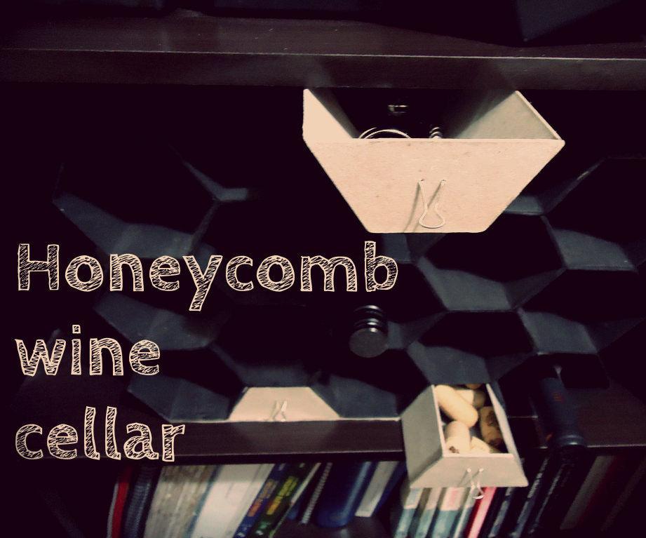 Honeycomb wine cellar